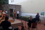 Literarni večer z Benjaminom Žnidaršičem – otvoritev »Fajn konca« v Črni
